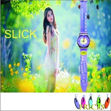 Relógio Roxo Luxo
