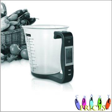 Balança de cozinha digitais adequados para líquidos e sólidos